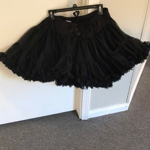Black adult tutu, fits all sizes,